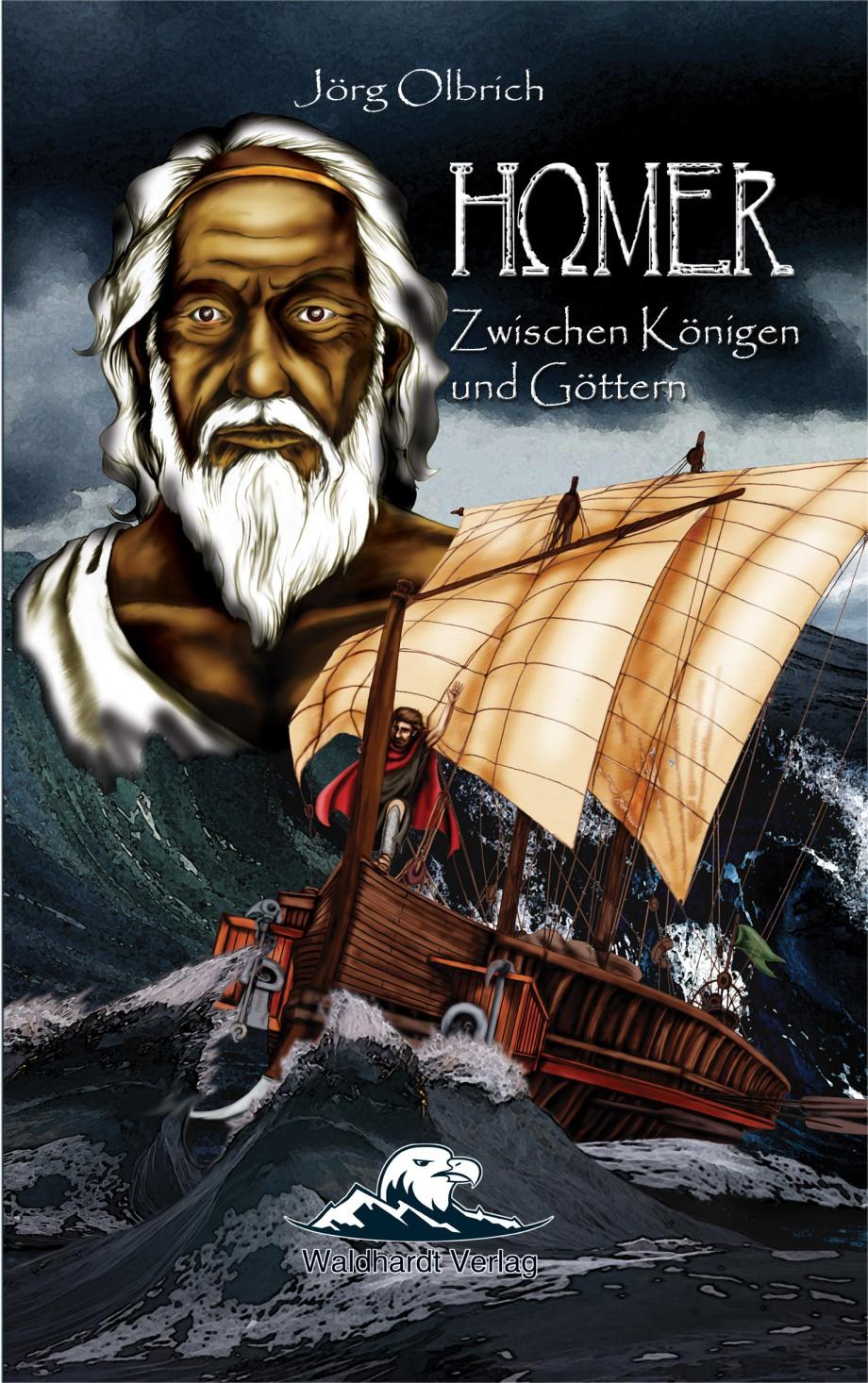 Cover Homer_Zwischen Königen und Göttern