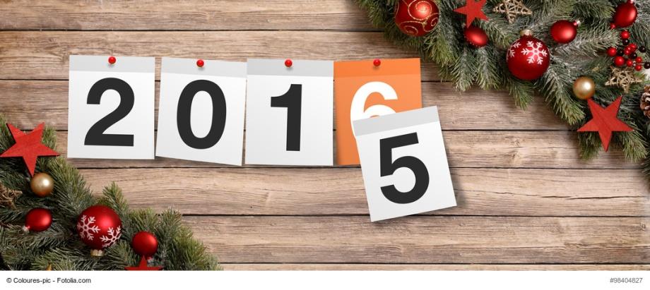 2016 / 2015 Jahreswechsel /
